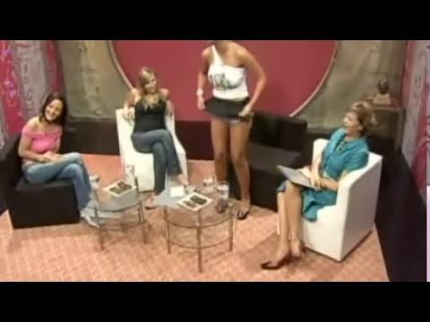 Pamela Díaz muestra sus calzones en nuevo programa