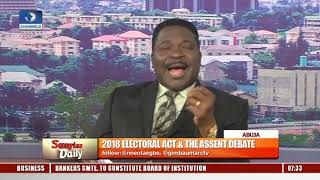 Amended Electoral Act Aims To Sanitise 'Corrupt Electoral System'-- Ozekhome  Sunrise Daily 