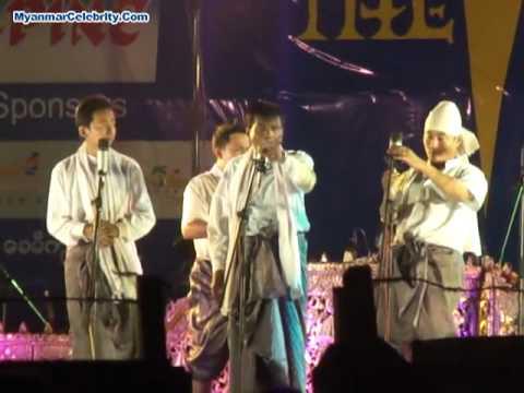 5 Stars A Nyient Performance @ Chaung Thar Beach, Feb 2011