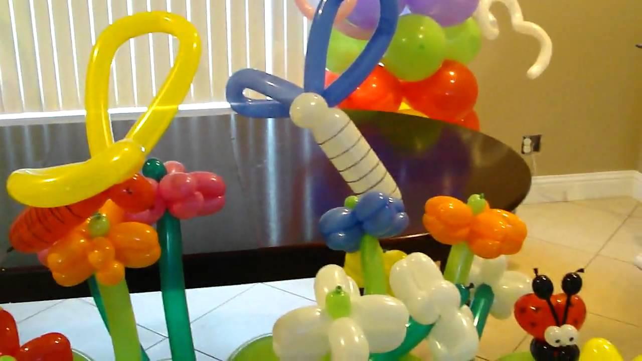 Figuras con globos por globolandiadeco youtube - Como hacer figuras con globos ...