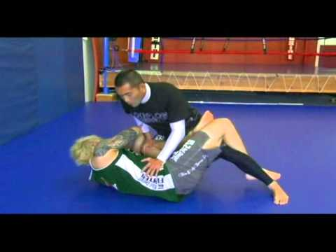 MMA Techniques: Shin Lock vs Leg Over Guard Image 1