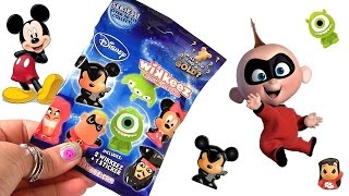 20 Disney Wikkeez SURPRISE Blind Bags Gold Mickey Mouse Rockstar Pixar BOX by Disneycollector