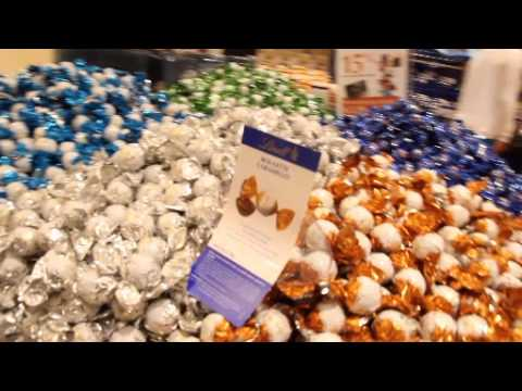 Travel Blog - Florence - Lindt Shop