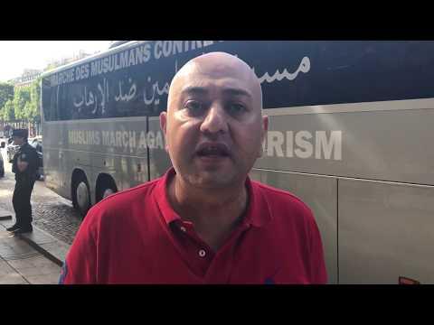 خطاب يطلق مسيرة محاربة الإرهاب و وقف الحرب في سوريا