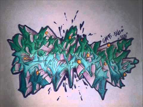 Grafftiti Blackbook - Eiji-One Nº6