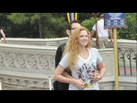 Scavenger Hunt Proposal at Disney World's Magic Kingdom (Nando proposes to Lisa)