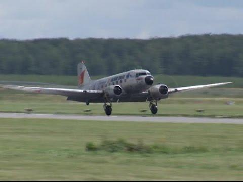 В Кольцово приземлились два самолета Douglas времен Второй мировой
