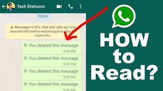 How to Read Deleted WhatsApp Messages | New WhatsApp Trick