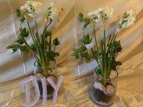 DIY: Blumen Werkstatt , tolle BLUMEN-DEKO für 45 Cent , SELBER MACHEN; How to