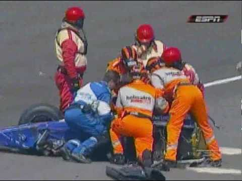 Indy 500 - Mike Conway Amazing Crash