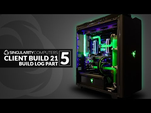 Water-cooling NZXT H440 CB21 Build Log: Part 5