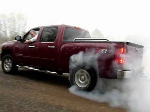 2007 Silverado BURNOUT! 5.3L Z71 4x4 ASPHALT DESTRUCTION!!