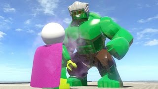 MYSTERIO VS STAN LEE (BATTLE) - LEGO Marvel Super heroes