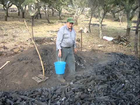 Hornos metalicos para hacer carbon vegetal