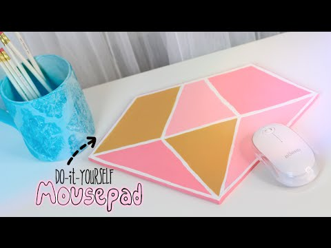 DIY Glam Mousepad