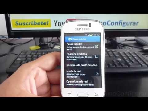 como mejorar la señal de mi celular samsung galaxy Young gt s6310 español Video Full HD