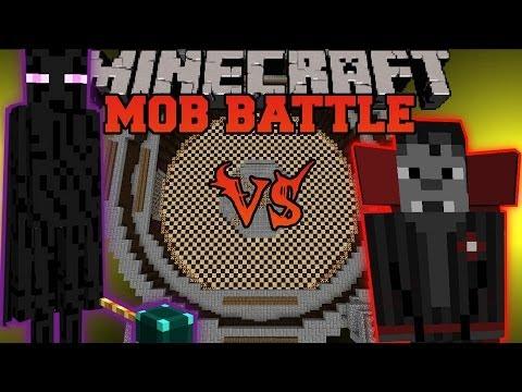 Ender Lord Vs. Vampire Overlord - Minecraft Mob Battles - Legendary Beasts Mod Battle