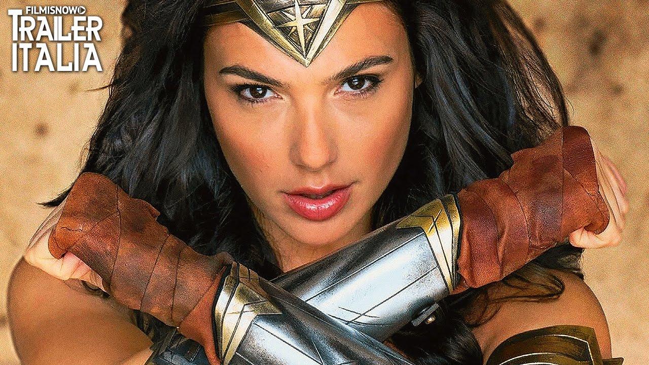 WONDER WOMAN Gal Gadot in azione nel Nuovo Epico Trailer