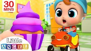 Yum Yum, Cupcakes! | Little Angel Nursery Rhymes and Kids Songs