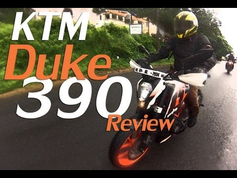 KTM Duke 390 Review India - iflythis