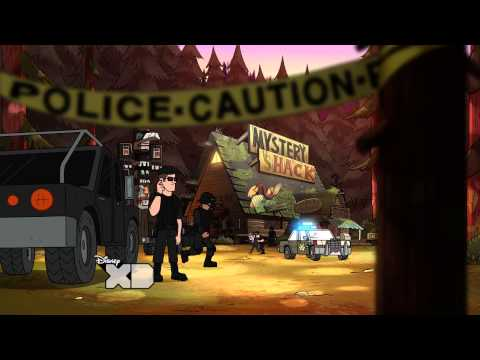 Gravity Falls - Not What He Seems - Clip video