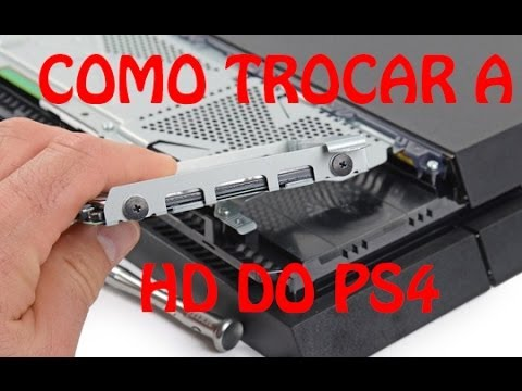 Tutorial Completo: Trocar a HD do PS4 para 1 TB ST1000LM024 sem erros