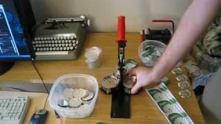 How To Make 2 1/4 Inch Buttons with a Tecre Button Machine