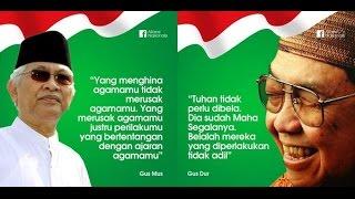 Quote Gus Dur & Gus Mus