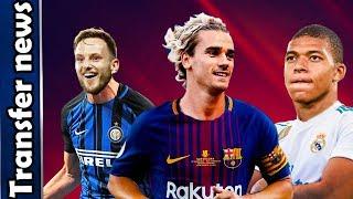 Transfer News & Rumours 2019 ⚽️ Ft. Mbappé, Griezmann, Hazard, Mané etc.