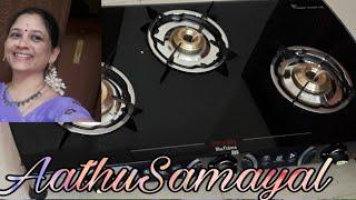 Preethi Blu flame Blaze 3 Burner Glass top Gas stove   Preethi Gas stove review   New purchase video