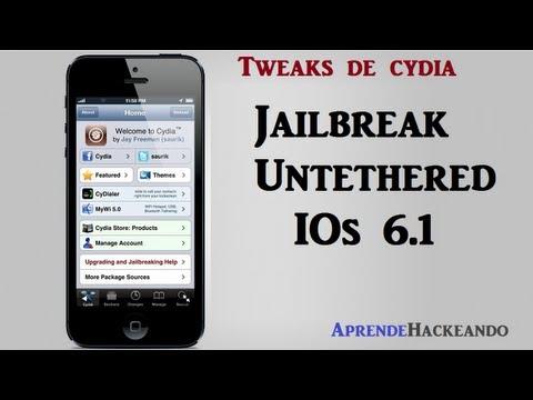 evasi0n Jailbreak Untethered iOS 6.1.1 Español