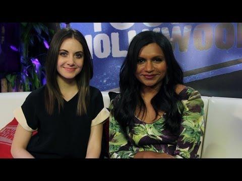 Alison Brie & Mindy Kaling: Donut Dish - STUDIO SECRETS