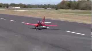 BIG turbine RC jet CRASHES into cameraman....ME!