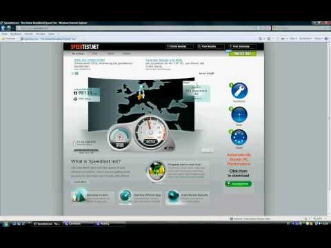 speedtest internet speed test 100 mbs