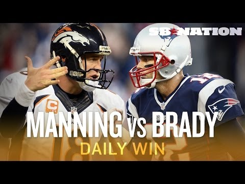 Broncos-Patriots on Sunday Night Football is Manning-Brady 14 - The Daily Win
