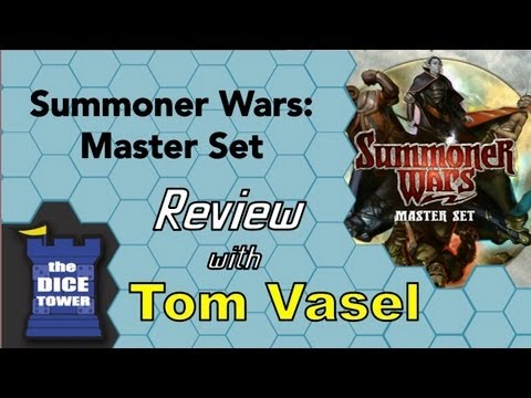Summoner Wars Master Set Review - with Tom Vasel