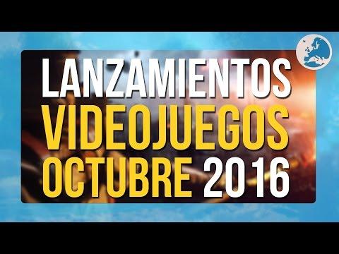 LOS VIDEOJUEGOS QUE SALEN EN OCTUBRE 2016