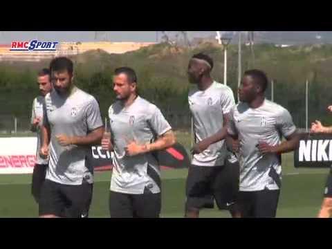 Football / Ligue Europa : L'entraînement de la Juve à la veille de son match face à l'OL - 09/04