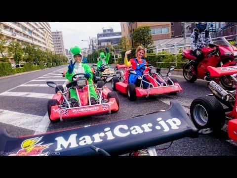 "Public Road Go Kart Tour ""Real Life Mario Kart"" in Tokyo | Japan"