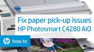 Fixing Paper Pick-Up Issues - HP Photosmart C4280 All-in-One Printer