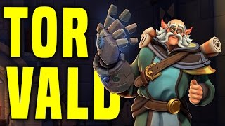 10000 Health?! Torvald Is Awesome! | Paladins Torvald OB42 PTS Gameplay