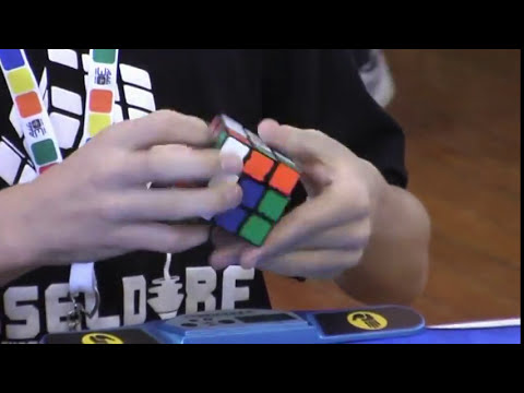 Rubik's cube average former world record 7.91 seconds