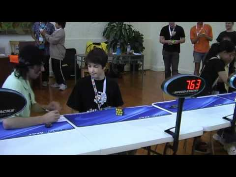 Rubik's cube average former world record 7.91 seconds