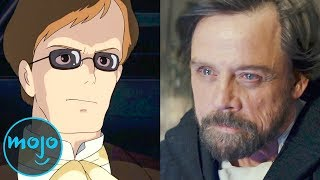 Top 10 Actors You Didn?t Know Were in Anime Films