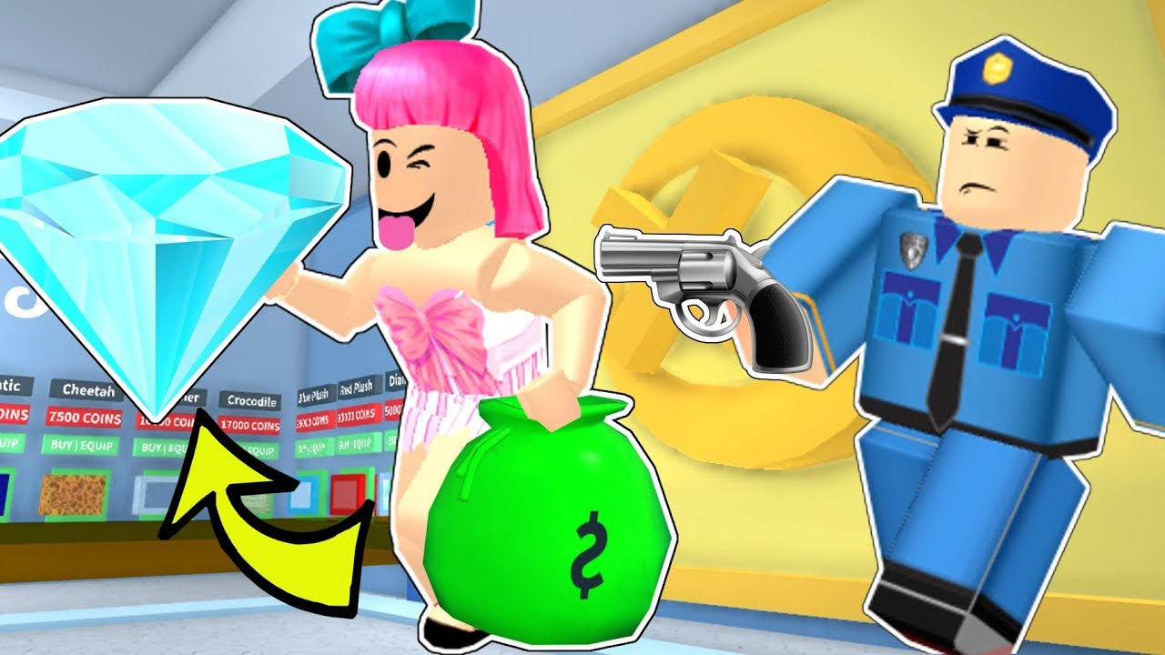 Roblox: STEALING EVERYTHING IN ROBLOX!!! - ROBBERY SIMULATOR!