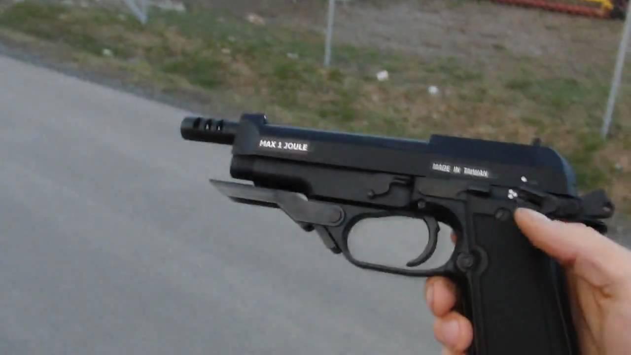 Beretta M93R II Full Auto Shot In The Back *Airsoft* - YouTube