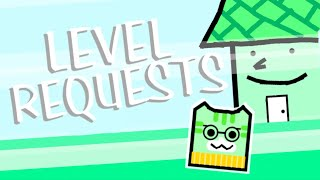 AWESOME JUNIPER-THEMED LEVEL!! | Geometry Dash Level Requests #1
