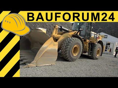 Caterpillar 972M XE Radlader Wheel Loader Walkaround & Interview - Steinexpo 2014 - Bauforum24