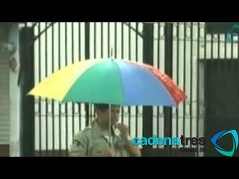 Tormenta Barry deja fuertes lluvias y desbordamientos de ríos en Veracruz