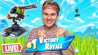 *NEW* MOUNTED TURRET IN FORTNITE LIVE!! - Royalistiq Fortnite Livestream (Nederlands)